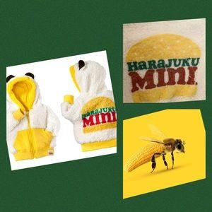 Harajuku Mini Woobie Sherpa baby boys jacket nwot